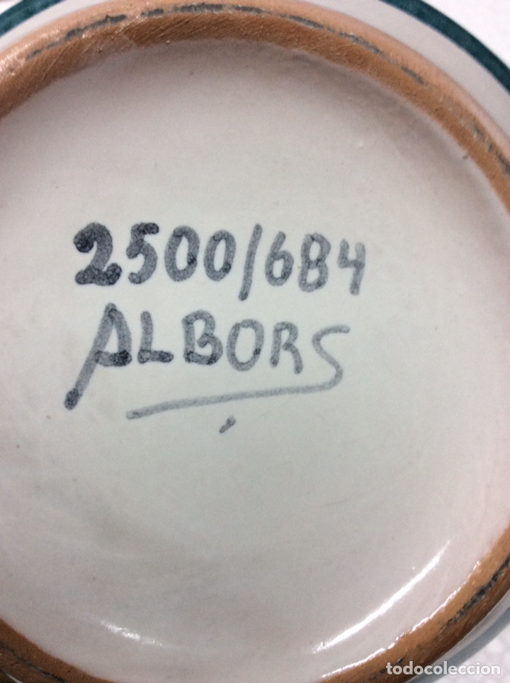 Antigüedades: Albarelo Dryopteris-Mas Filix 29x12cm 2500/684 ref3 - Foto 3 - 202831185