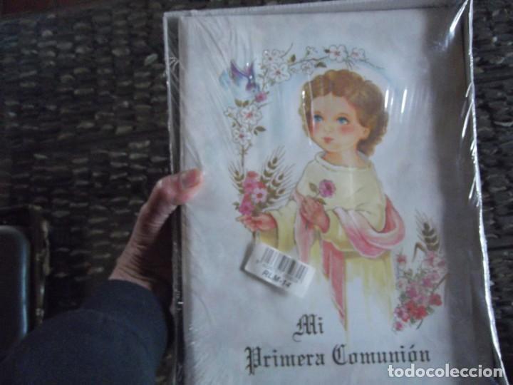 Antigüedades: Libro primera Comunión de 24 X 32 cm Nuevo ! - Foto 2 - 202872006