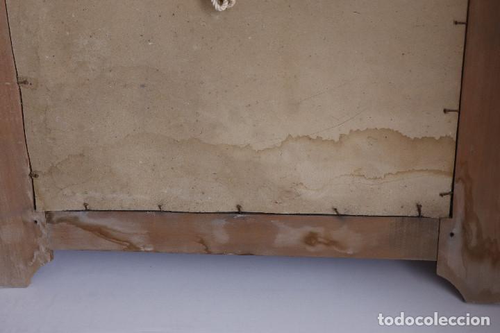 Antigüedades: LITOGRAFÍA SANTA TERESA CON MARCO MODERNISTA - Foto 6 - 202874128