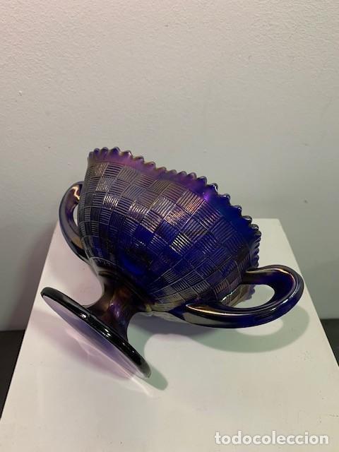 Antigüedades: CARNIVAL GLASS, FRUTERO. - Foto 3 - 202878745