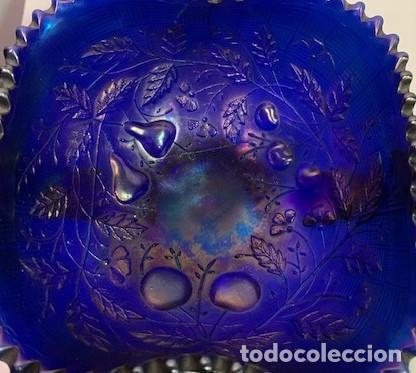 Antigüedades: CARNIVAL GLASS, FRUTERO. - Foto 4 - 202878745