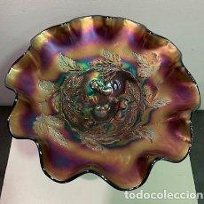 Antigüedades: CARNIVAL GLASS, FRUTERO.. Lote 202879340