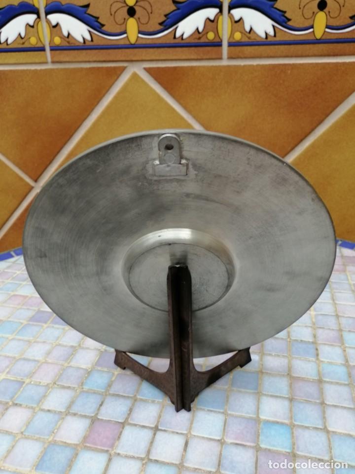 """Antigüedades: PLATO DECORATIVO EN METAL """"OSTERREICH"""" - Foto 4 - 202884315"""