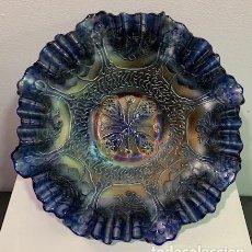 Antigüedades: CARNIVAL GLASS, FRUTERO.. Lote 202973522
