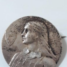 Antigüedades: INSIGNIA DE PLATA JUANA LA LOCA. Lote 202976602