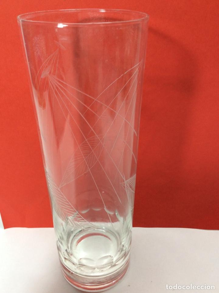 Antigüedades: 10 vasos de tubo Vintage 18x6cm - Foto 3 - 203007520
