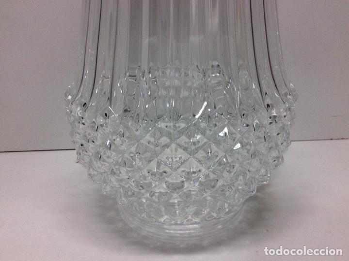 Antigüedades: Florero de cristal 25x14cm - Foto 2 - 203008123