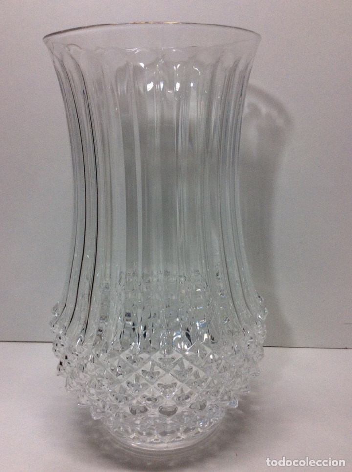 FLORERO DE CRISTAL 25X14CM (Antigüedades - Cristal y Vidrio - Otros)