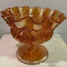 Antigüedades: CARNIVAL GLASS, FRUTERO.. Lote 203061067