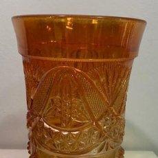 Antigüedades: CARNIVAL GLASS, COPA.. Lote 203062680