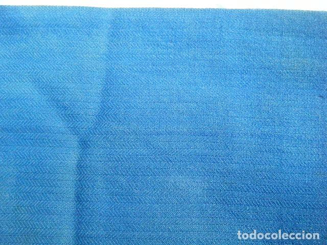 Antigüedades: Antigua faja o fajín lana . Traje regional Segovia. Telar Azul añil Indumentaria tradicional popular - Foto 4 - 203094913