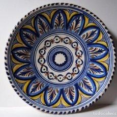 Antigüedades: PLATO CERÁMICA DE TOLEDO / SANGUINO. Lote 203107300