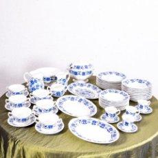 Antiquités: VAJILLA ANTIGUA PORCELANA SAN CLAUDIO. Lote 203110857