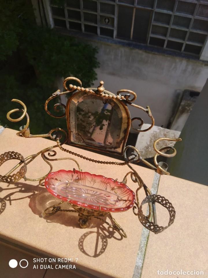 Antigüedades: Alhajero perfumero Baccarat 1900 - Foto 2 - 203140700