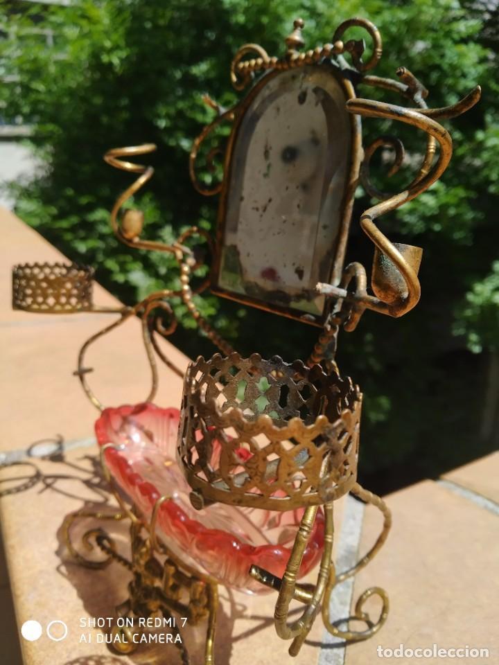 Antigüedades: Alhajero perfumero Baccarat 1900 - Foto 5 - 203140700