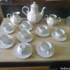 Antigüedades: JUEGO DE CAFE SANTA CLARA. Lote 203148815