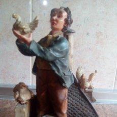 Antigüedades: COLECCIÓN DE 5 FIGURAS QUITANA 22 CM DE ALTA. Lote 203157386