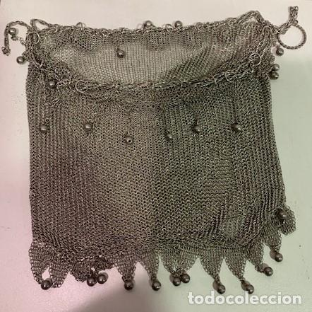 Antigüedades: Bolso de plata. - Foto 2 - 203172457