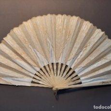 Antigüedades: ELEGANTE ABANICO DE NOVIA S. XIX. Lote 203187543