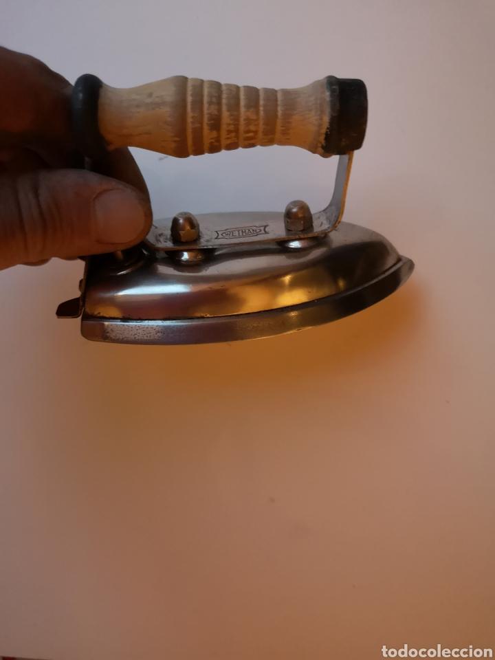 Antigüedades: Plancha Antigua Wetman Tamaño Mini - Foto 4 - 203189396