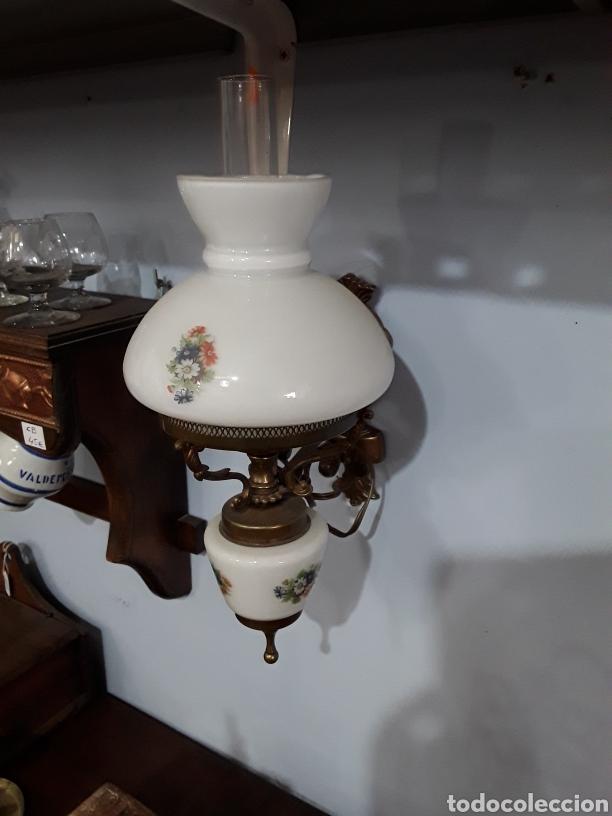 Antigüedades: Pareja de apliques ceramicos - Foto 4 - 93908598