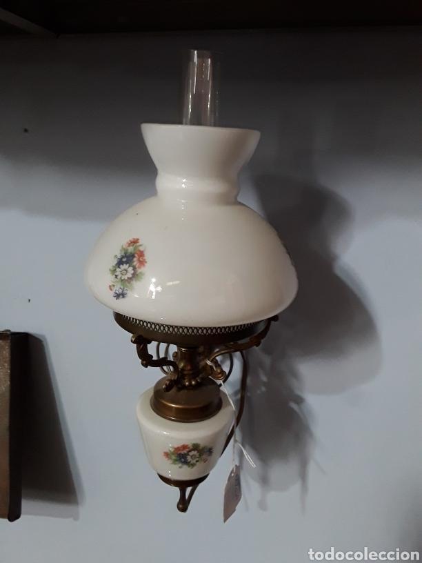Antigüedades: Pareja de apliques ceramicos - Foto 5 - 93908598
