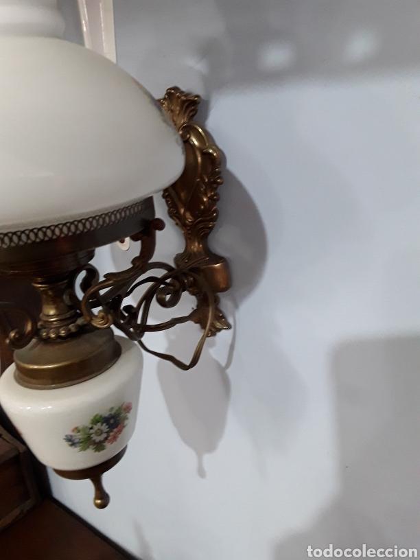 Antigüedades: Pareja de apliques ceramicos - Foto 7 - 93908598
