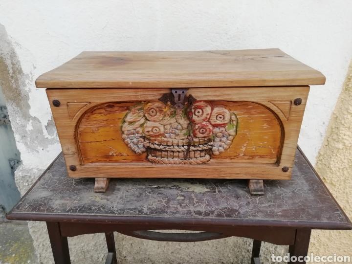 ANTIGUA ARQUETA O COFRE (Antigüedades - Muebles Antiguos - Baúles Antiguos)