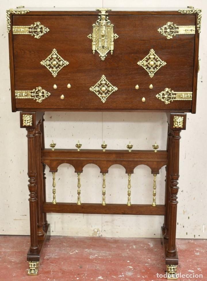 BARGUEÑO ESPAÑOL DEL PRIMER TERCIO DE S.XX (Antigüedades - Muebles Antiguos - Bargueños Antiguos)