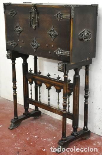Antigüedades: BARGUEÑO ESPAÑOL DEL PRIMER TERCIO DE S.XX - Foto 8 - 203252670