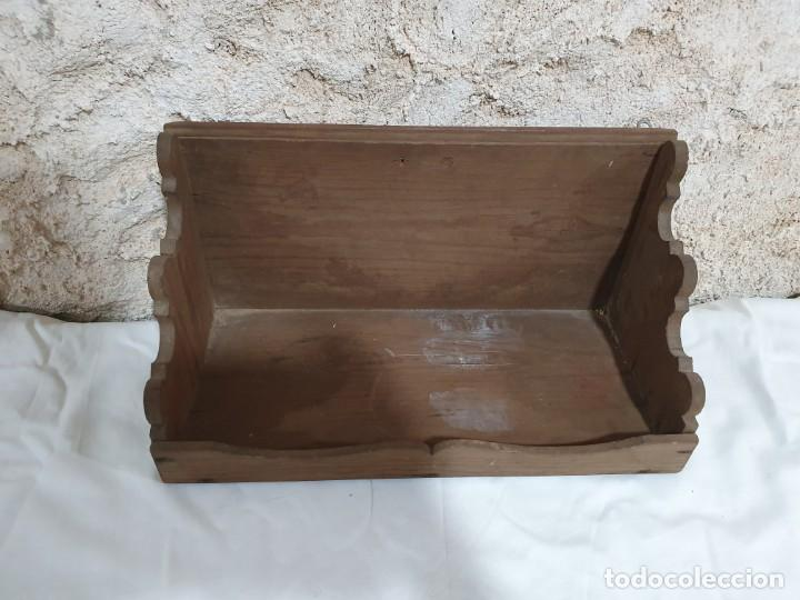 REPISA ESTANTERÍA (Antigüedades - Muebles Antiguos - Repisas Antiguas)
