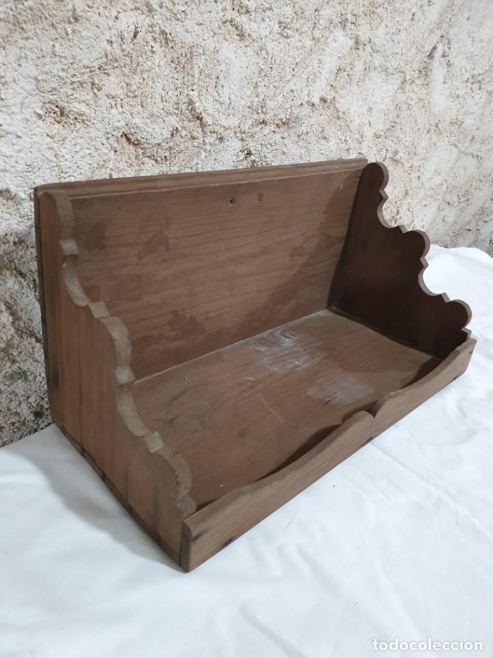 Antigüedades: REPISA ESTANTERÍA - Foto 2 - 203263396