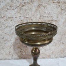 Antigüedades: JARRÓN LATÓN. Lote 203265683
