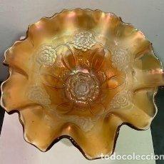 Antigüedades: CARNIVAL GLASS, FRUTERO.. Lote 203269430