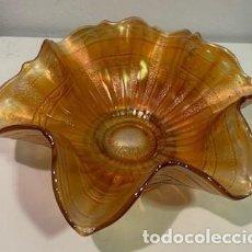 Antigüedades: CARNIVAL GLASS, FRUTERO.. Lote 203270025