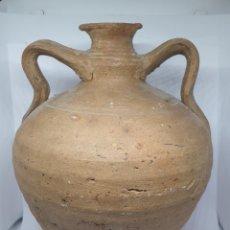 Antigüedades: DE COLECCION,INUSUAL CANTARO,CANTARILLO EN CERAMICA DE GUADIX,(GRANADA),S. XIX. Lote 203297522