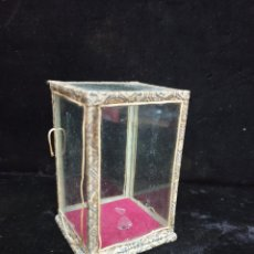 Antigüedades: URNA DE CRISTAL. Lote 203333120