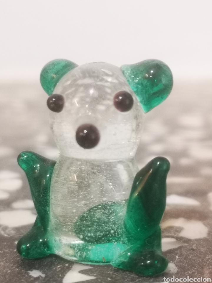 Antigüedades: Colección de 9 animales en miniatura, en cristal de murano, 1 a 4cm - Foto 6 - 203372740