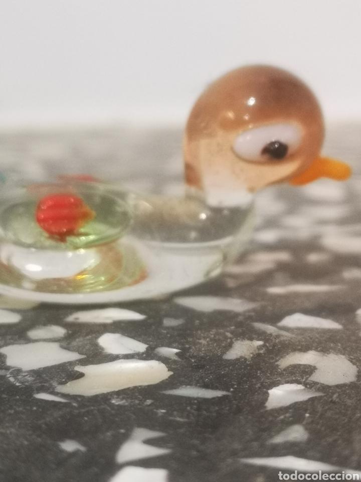 Antigüedades: Colección de 9 animales en miniatura, en cristal de murano, 1 a 4cm - Foto 7 - 203372740