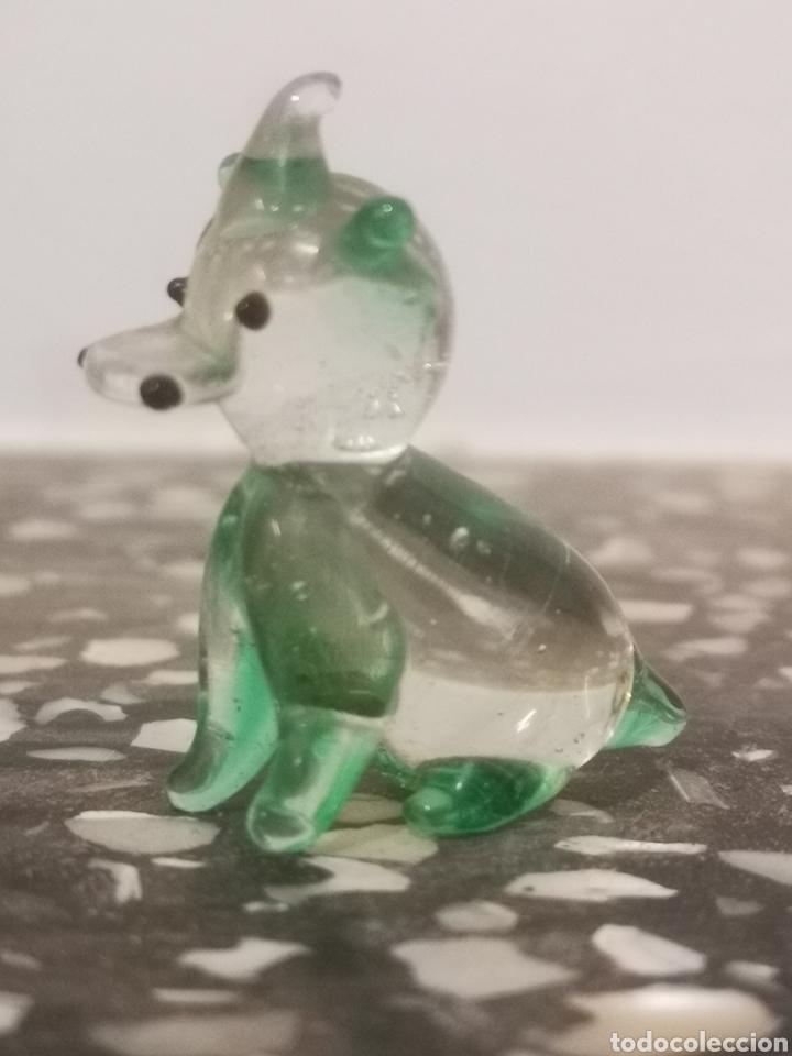 Antigüedades: Colección de 9 animales en miniatura, en cristal de murano, 1 a 4cm - Foto 12 - 203372740
