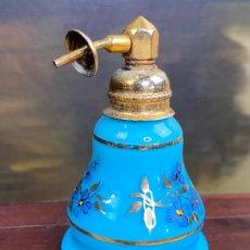 Antigüedades: PEQUEÑO PERFUMERO CON ATOMIZADOR. Lote 203429075