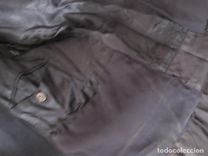 Antigüedades: Abrigo azul de Benetton. Talla S - Foto 5 - 203459851