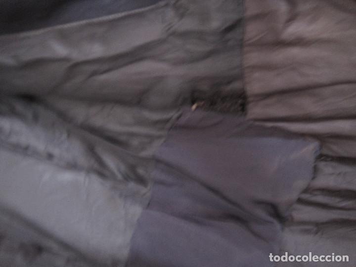 Antigüedades: Abrigo azul de Benetton. Talla S - Foto 6 - 203459851