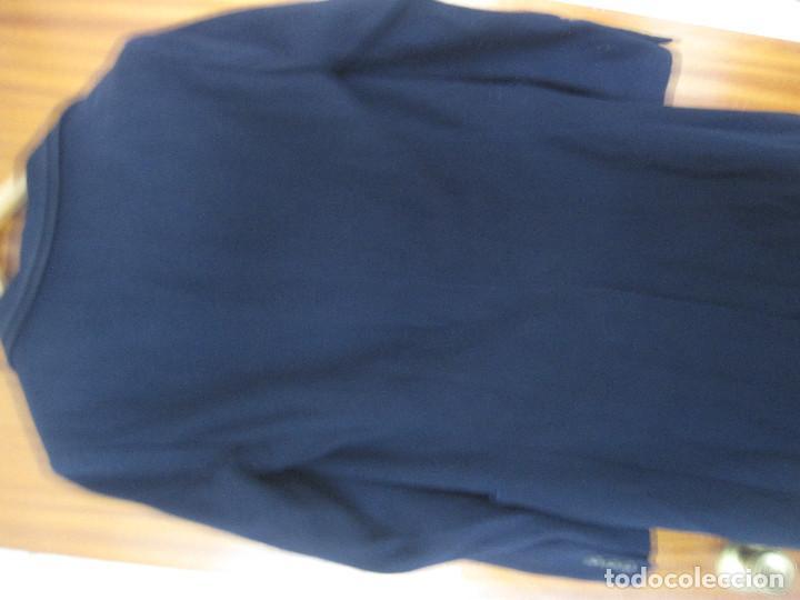 Antigüedades: Abrigo azul de Benetton. Talla S - Foto 8 - 203459851