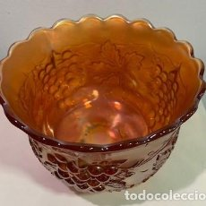 Antigüedades: CARNIVAL GLASS, FRUTERO.. Lote 203486453