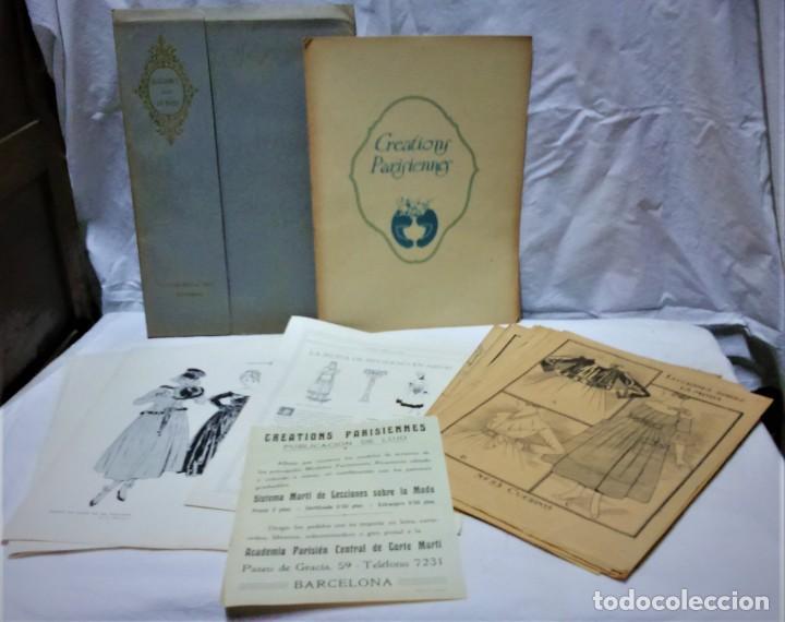 LECCIONES SOBRE LA MODA. ACADÉMIA CENTRAL MARTÍ,BARCELONA.LA MODA DE INVIERNO 1916-1917 (Antigüedades - Moda y Complementos - Mujer)