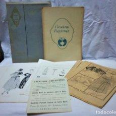 Antigüedades: LECCIONES SOBRE LA MODA. ACADÉMIA CENTRAL MARTÍ,BARCELONA.LA MODA DE INVIERNO 1916-1917. Lote 203501551