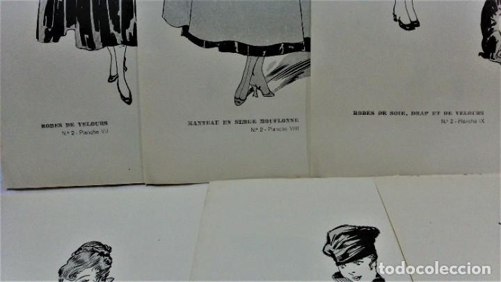 Antigüedades: LECCIONES SOBRE LA MODA. ACADÉMIA CENTRAL MARTÍ,BARCELONA.LA MODA DE INVIERNO 1916-1917 - Foto 8 - 203501551