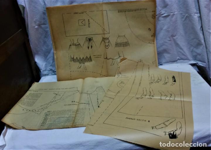Antigüedades: LECCIONES SOBRE LA MODA. ACADÉMIA CENTRAL MARTÍ,BARCELONA.LA MODA DE INVIERNO 1916-1917 - Foto 11 - 203501551