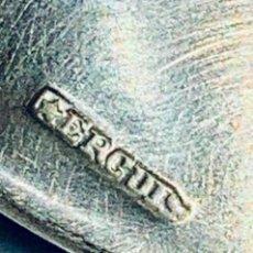 Antigüedades: ANTIGUA CUCHARA DE MESA PLATA. ERCUIS ORFEVRERIE. FRANCIA. FF. SXIX. 20CM/61'40GR. Lote 203527735